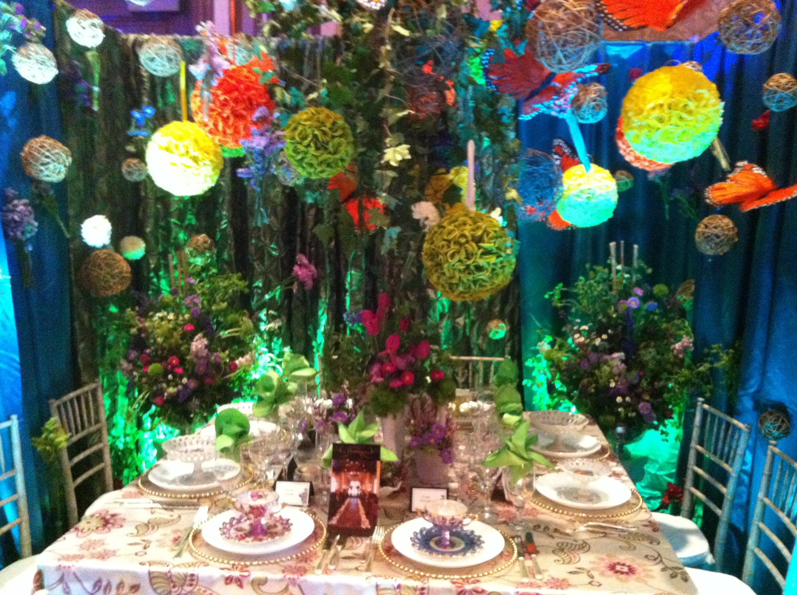 Whimsical Garden Wedding | JMT Eventology on Whimsical Backyard Ideas id=85084