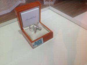 The £54,000 platinum dummy ©Russell and Case Jewellers