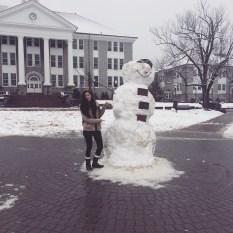 Quad Snow Man