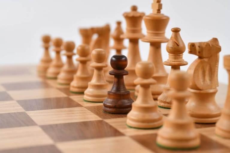 Sales Plan Chess Board