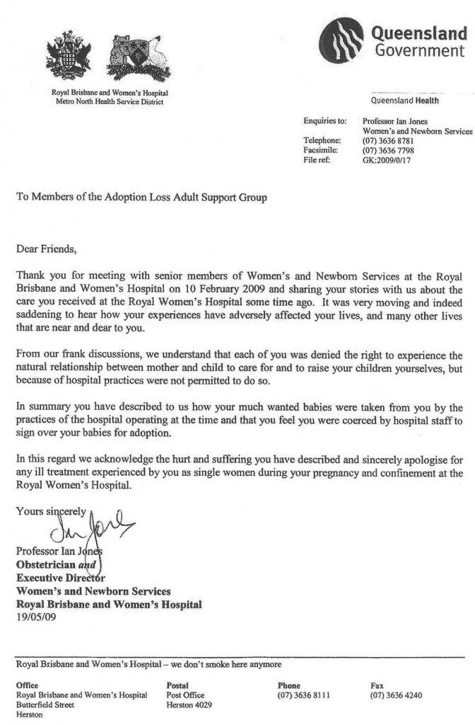 letter from Brisbane Hospital Aus 09-6 resized 09-10-18