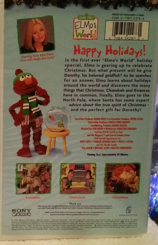 Elmo S World Happy Holidays J Nd K International