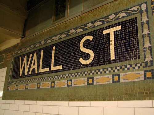 Wall Street mosaic