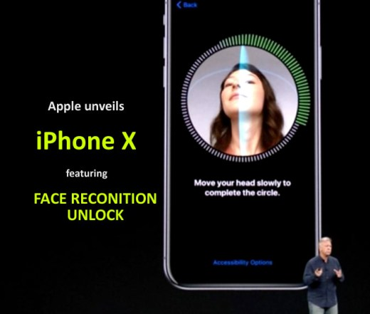 Apple unveils iPhone X featuring face unlock security
