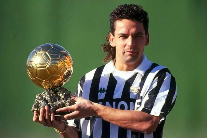 Foto Roberto Baggio pallone doro 4