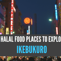 Five Halal Food Places to Try Out in Ikebukuro