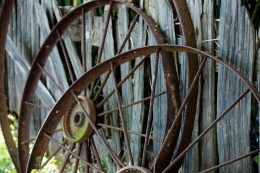 Cast Iron Wagon Wheels