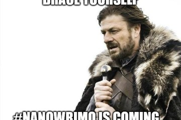 NaNoWriMo is coming