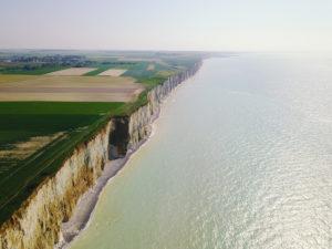 Normandie Mavic Pro - la côté d'Albâtre (1)