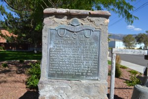In 1882 Congress passed the Edmunds Act which caused LDS property, including cattle, to be confiscated. Later the law was repealed and property returned. They could not fully repay the church, so they offered up three ranches and other property. Church officials deemed the location favorable for settlement. Our family was one of the founding families in the settlement.