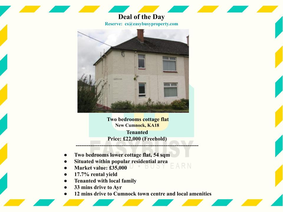 20200829-2 | Transaction Record of UK Property Investment | JiaYu