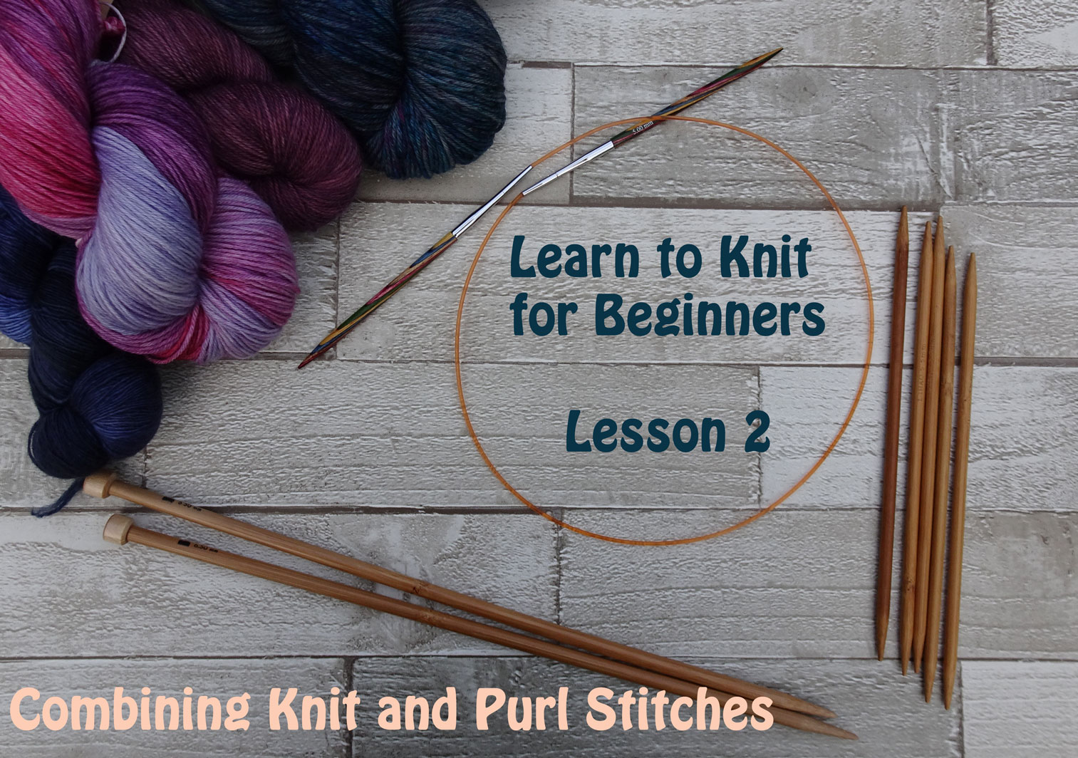 Difference Between A Knit And Purl Stitch Learn To Knit For