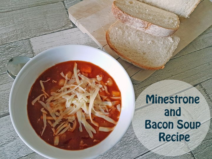 Minestrone and Bacon Soup Recipe