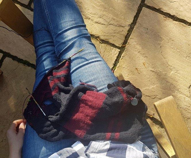 Stripes-gone-crazy-cardigan