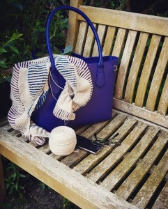 Have a project in your handbag