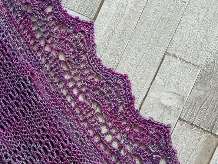 New Crochet Design The Shawl With No Name Jo Creates