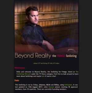 Beyond Reality Fanilistaus