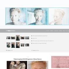 Fansite: Tilda Swinton Online