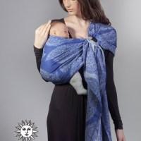 Azzurro Diva Essenza karikás kendő bambusszal