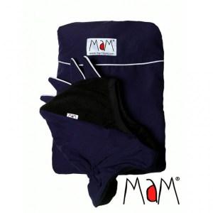 MAM Deluxe hordozós takaró Sötétkék-fekete