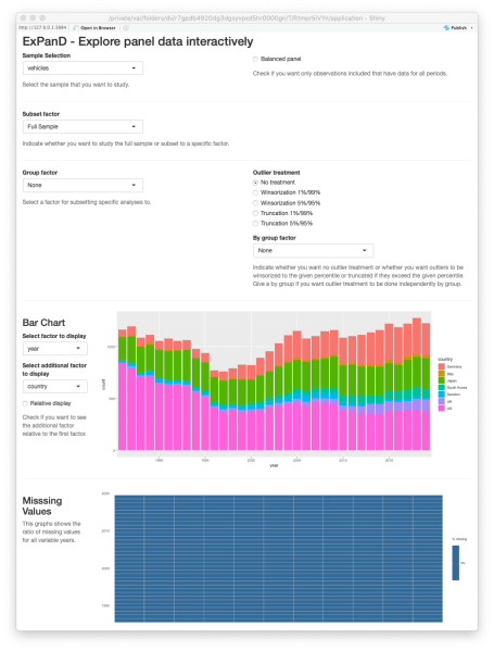 ExPanD with fuel economy data, standard look