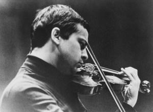 Joachim Schall als junger Geiger