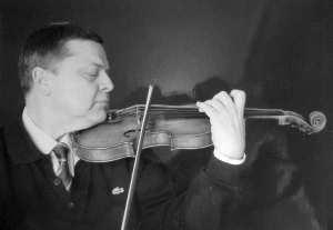 Joachim schall als Konzertmeister