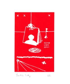 joachim_sontag_sérigraphie_dessin_suspendu