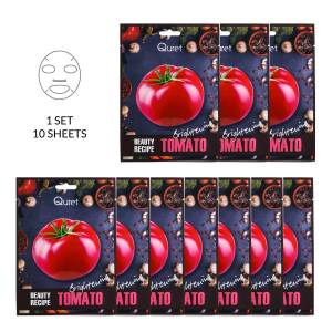 Quret Beauty Recipe Tomato Mask 10 Pack [Brightening]