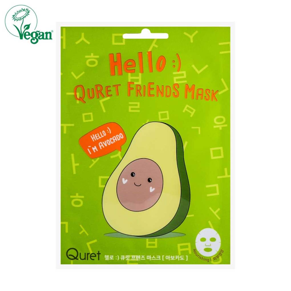 Hello :) Quret Friends Avocado Mask