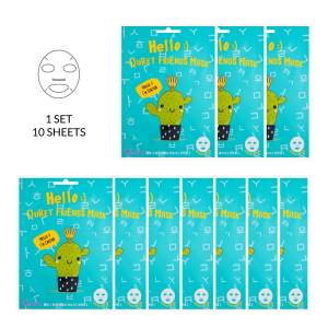 Hello :) Quret Friends Cactus Mask 10 Pack