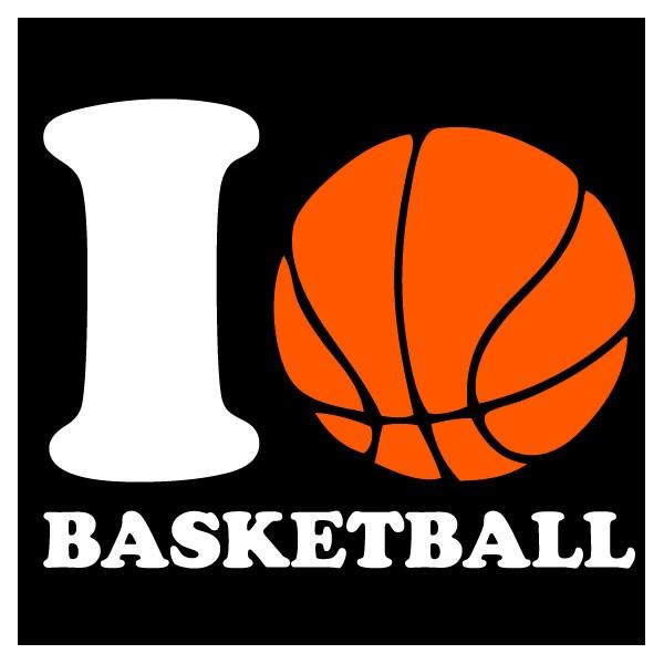 I Love Basketball Joajo Creations