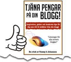 köp e-boken tjäna pengar på din blogg