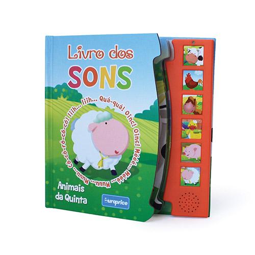 """Imagem da Coleção """"Livro dos Sons"""" - Animais da Quinta"""