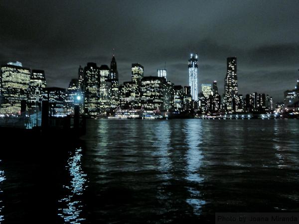 Photo of Manhattan Skyline as seen from Brooklyn, taken by Joana Miranda