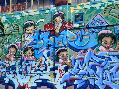 Nurses graffiti