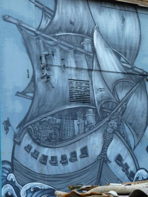 ship graffiti