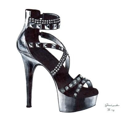 punk heel
