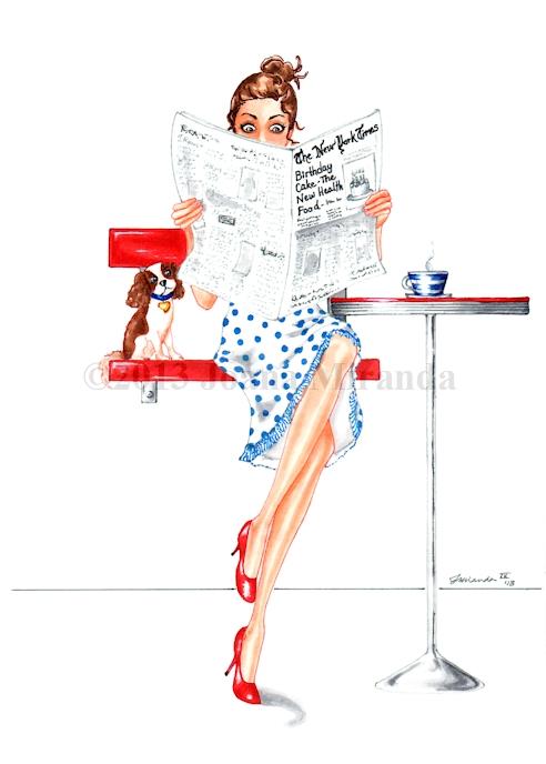 Good Health and Happy Birthday illustration by Joana Miranda