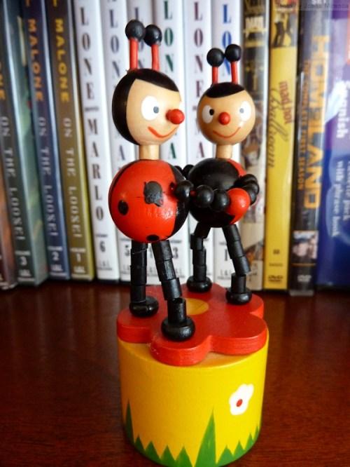 ladybug spring toy