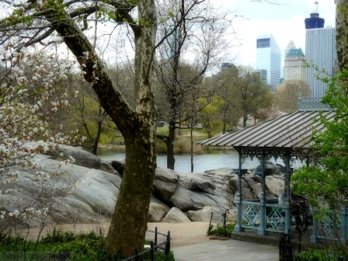 Looking towards the south end of Central Park