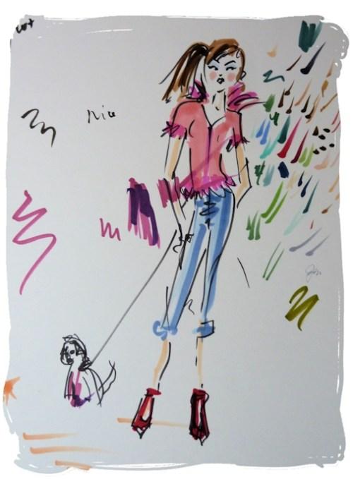 doodle fashionista
