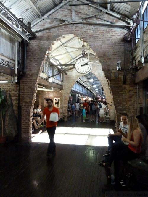 Chelsea Market arch