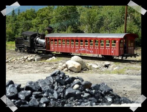 steam engine at rest