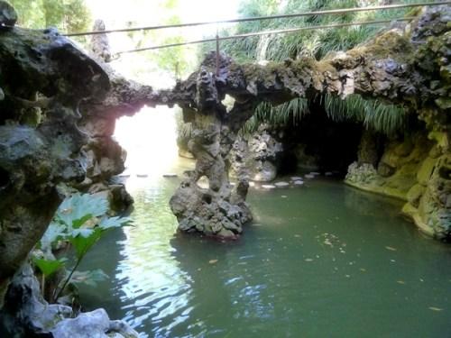 lagoon at Quinta da Regaleira