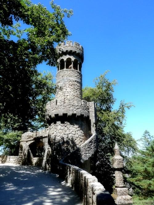 photo of turret at Quinta Regaleira