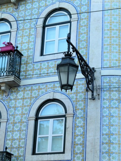 tiled house in Lisbon