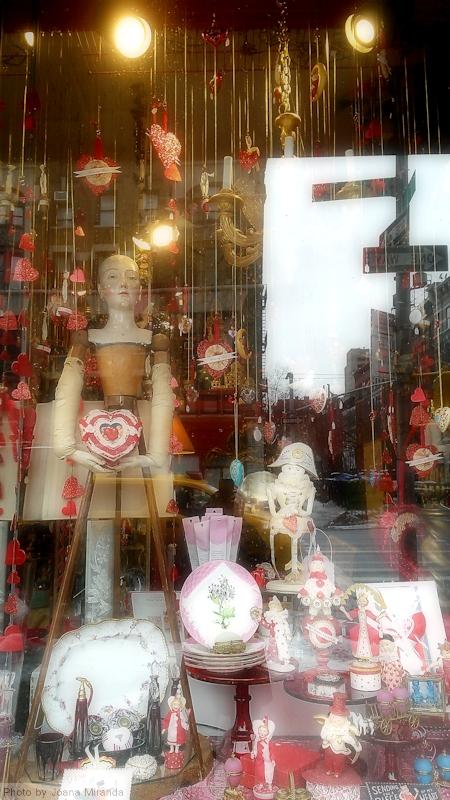 Valentines window Upper West Side