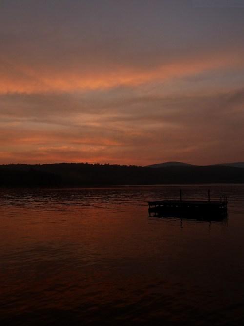 Sunset on Goose Pond