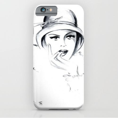 iPhone case Zelda illustration by Joana Miranda Studio at Society6